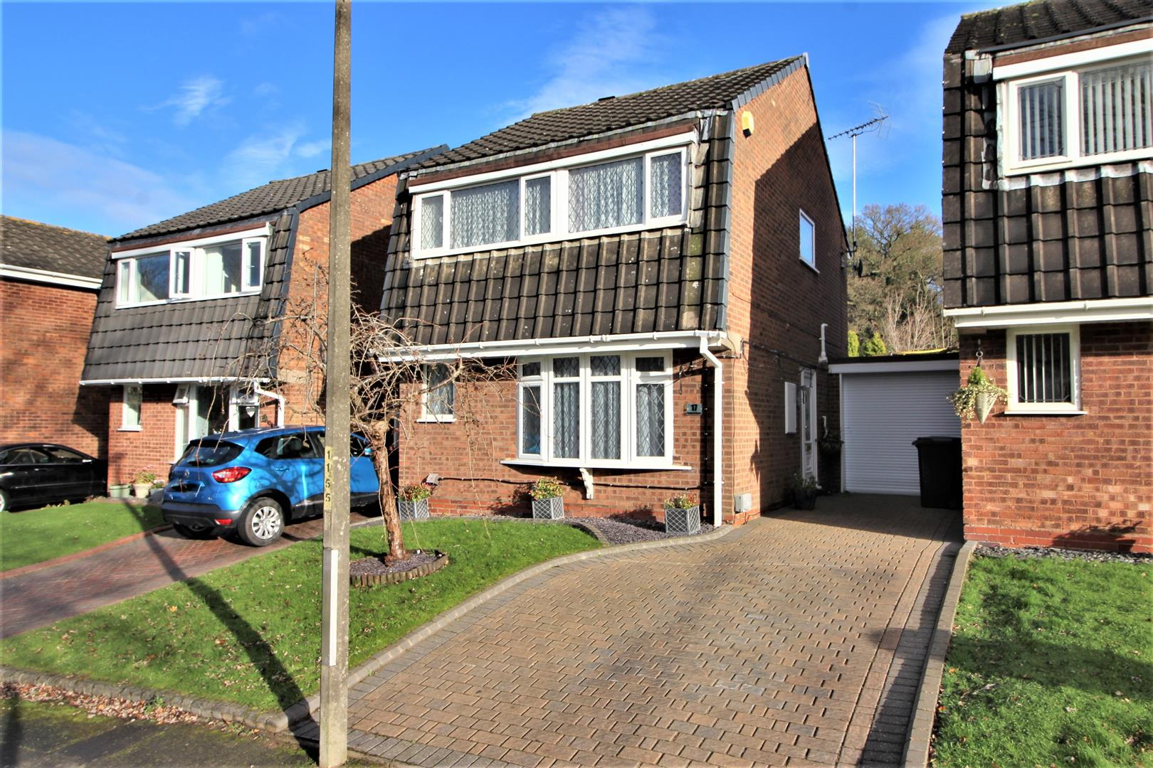 3 Bedrooms Link Detached House for sale in Paxford Close, Redditch